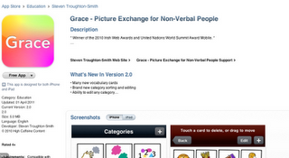 grace app on the itunes store