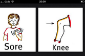 Grace App My Body Sore Knee